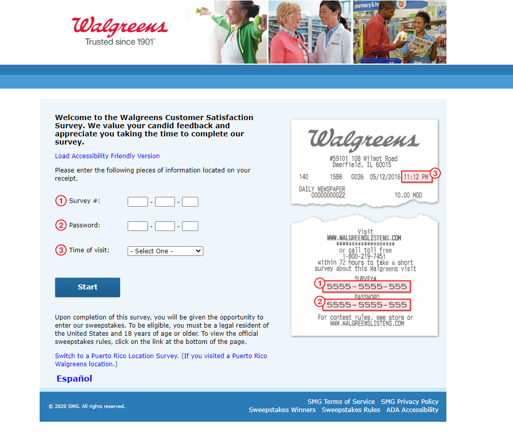 www.WalgreensListens.com - Win $3,000 Check with Survey